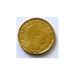LUXEMBOURG 20 CENTIMES 2003 SUP