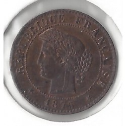 1 CENTIME CERES 1875 A SUP