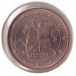 LITHUANIE 1 CENTIME 2015