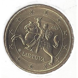 LITHUANIE  10 CENTIMES  2015