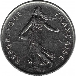 FRANCE 5 FRANCS ROTY 1988 SUP