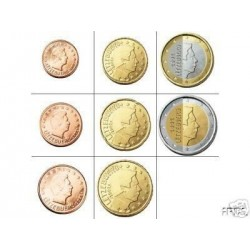 Luxembourg SERIE 8 MONNAIES...