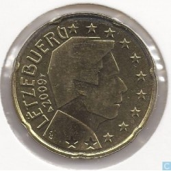 Luxembourg 2009 20 CENTIMES...