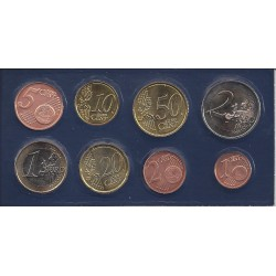 Luxembourg  SERIE 8 MONNAIES 2009