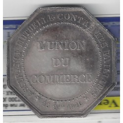 ASSURANCE L'Union du Commerce 16 Septembre 1846 TTB+