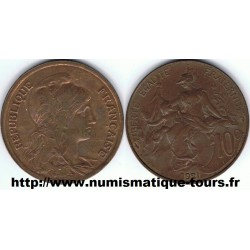 FRANCE 10 CENTIMES DUPUIS...