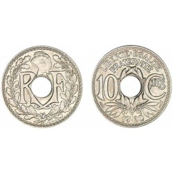 FRANCE 10 CENTIMES LINDAUER...