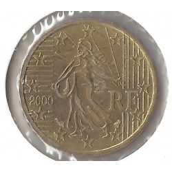 France 2000 10 CENTIMES SUP