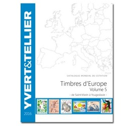 EUROPE Volume 5 - 2016 (Timbres des pays d'Europe de S à Y)