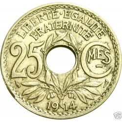 FRANCE 25 CENTIMES LINDAUER...