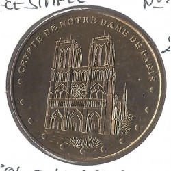 75 PARIS CRYPTE DE NOTRE DAME FACE SIMPLE N° 2 2001 SUP