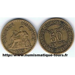 FRANCE 50 CENTIMES DOMARD...
