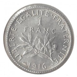 1 FRANC ROTY 1916 SUP