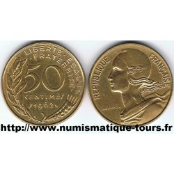 FRANCE 50 CENTIMES...