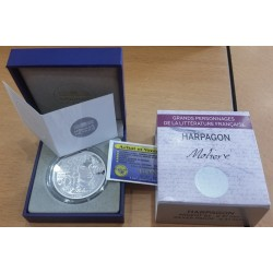 ARPAGON MOLIERE L'AVARE 10 Euro Argent BE 2014
