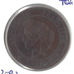 10 CENTIMES CERES 1880 A TB