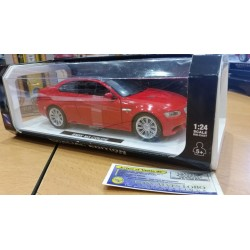BMW M3 COUPE ROUGE 2008 echelle 1:24