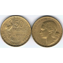 FRANCE 50 FRANCS GUIRAUD...