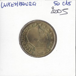 Luxembourg 2005 50 CENTIMES SUP