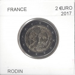 FRANCE 2017 2 EURO Commemorative RODIN Etat SUP