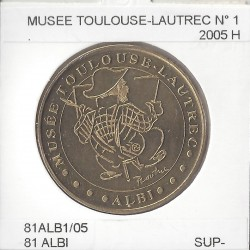 81 ALBI MUSEE TOULOUSE LAUTREC Numero 1 2005 H SUP