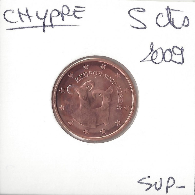 CHYPRE 2009 5 CENTIMES SUP