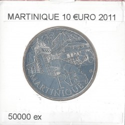 France 2011 10 EURO REGION MARTINIQUE