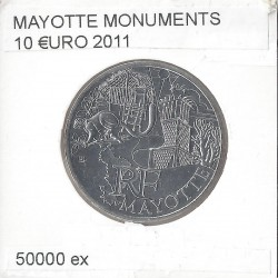 France 2011 10 EURO REGION MAYOTTE
