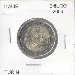 ITALIE 2006 COMMEMORATIVE 2 EURO TURIN SUP