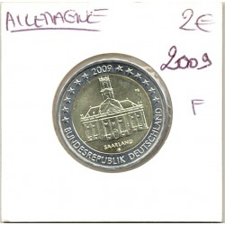 Allemagne 2009 F 2 EURO COMMEMORATIVE SAARLAND SUP