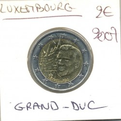 Luxembourg 2007 2 EURO COMMEMORATIVE