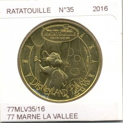 77 MARNE LA VALLEE DISNEYLAND RESORT Numero 35 RATATOUILLE 2016 SUP