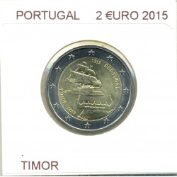 PORTUGAL 2 EURO COMMEMORATIVE CRUZ VERMELHA 2015 B.U