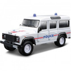 BBurago 1/50 LAND ROVER DEFENDER POLICE EMERGENCY