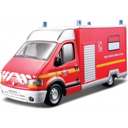 BBurago 1/55 RENAULT MASTER 18 ASSISTANCE AUX VICTIMES EMERGENCY
