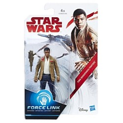 Figurine Star Wars FINN (JAKKU) Episode 8 C1505 C1503 HASBRO NEUF FORCE LINK