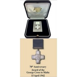 MaltaPost commemorates 70th anniversary of George Cross