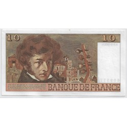 FRANCE 10 FRANCS  BERLIOZ N.301 2-3-1978 SPL
