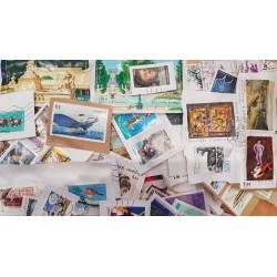 TIMBRES DE FRANCE GRANDS FORMATS ET COMMEMORATIFS SUR FRAGMENTS