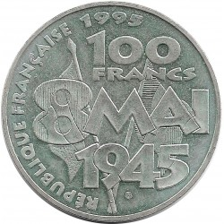 FRANCE 100 francs ARMISTICE 1995 SUP/NC