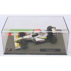 Brawn GP 01 Jenson Button 2009 F1 formule 1 voiture collection avec plexiglass