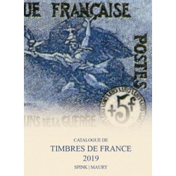 MAURY France 2019 - Tome I Timbres de France édition 2018-2019 en 2 VOLUMES