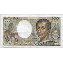 FRANCE 200 Francs MONTESQUIEU 1983 M.019 TTB
