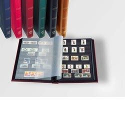 ALBUM TIMBRES 64 PAGES VERT...