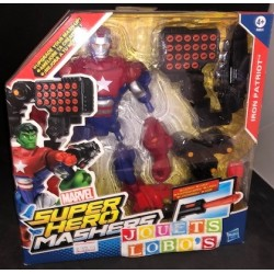 SUPER HERO MASHERS IRON PATRIOT de chez HASBRO NEUF