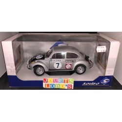 VOLKSWAGEN BEETLE RALLY ACROPOLIS 1973 GRISE SOLIDO 1/18 1:18 Réf: S1800503