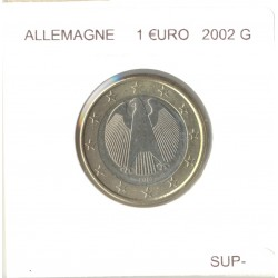 Allemagne 2002 G 1 EURO SUP-