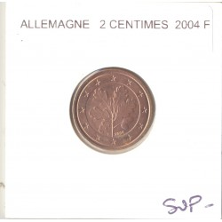 Allemagne 2004 F 2 CENTIMES SUP-
