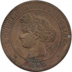 FRANCE 10 CENTIMES CERES 1895 A TB