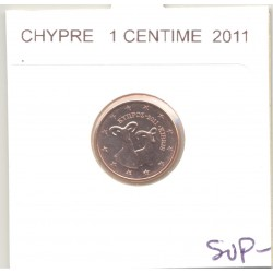 CHYPRE 2011 1 CENTIME SUP-
